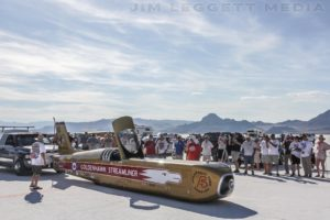 StrutWise recently provided gas lift struts for the GoldenHawk Streamliner, which is going to attempt to beat the Diesel Land Speed record in 2017!